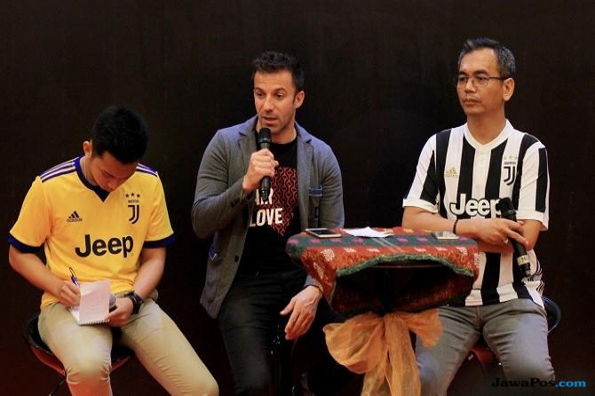 Del Piero ungkap Jasa Fabio Paratici Atas Kehadiran Ronaldo di Juventus
