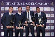 Gran Gala del Calcio 4 Pemain Juventus Terpilih
