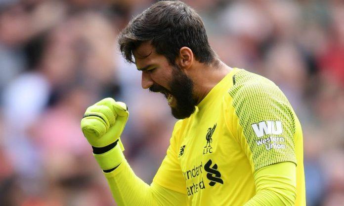 Kiper Alisson Sangat Penting Untuk Liverpool