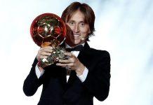 Luka Modric Peraih Trofi Ballon d'Or
