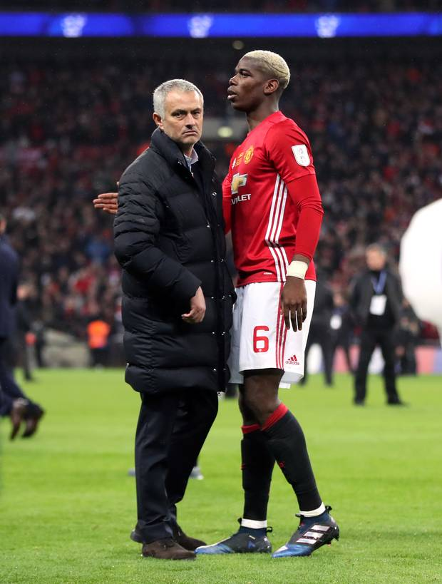 Ucapan Terima Kasih Dari Pogba Untuk Jose Mourinho
