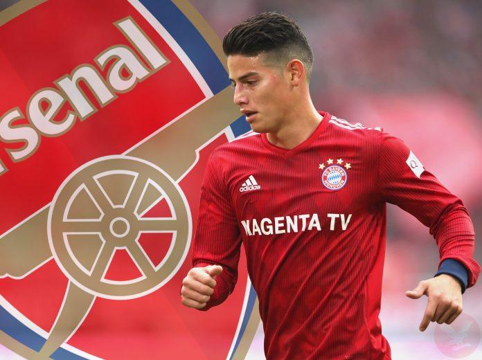 Arsenal Gagal Dapatkan James Rodriguez