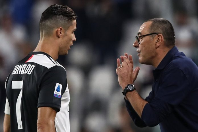 Maurizio Sarri Berjanji Akan Membantu Cristiano Ronaldo Meraih Ballon d'Or